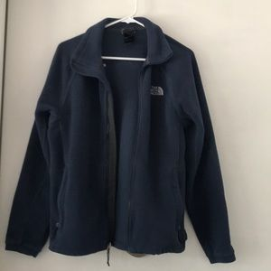 The North Face Full Front Zip Up Fleece - Small